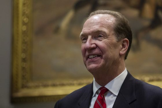 U.S. Treasury's David Malpass Appointed World Bank Group President