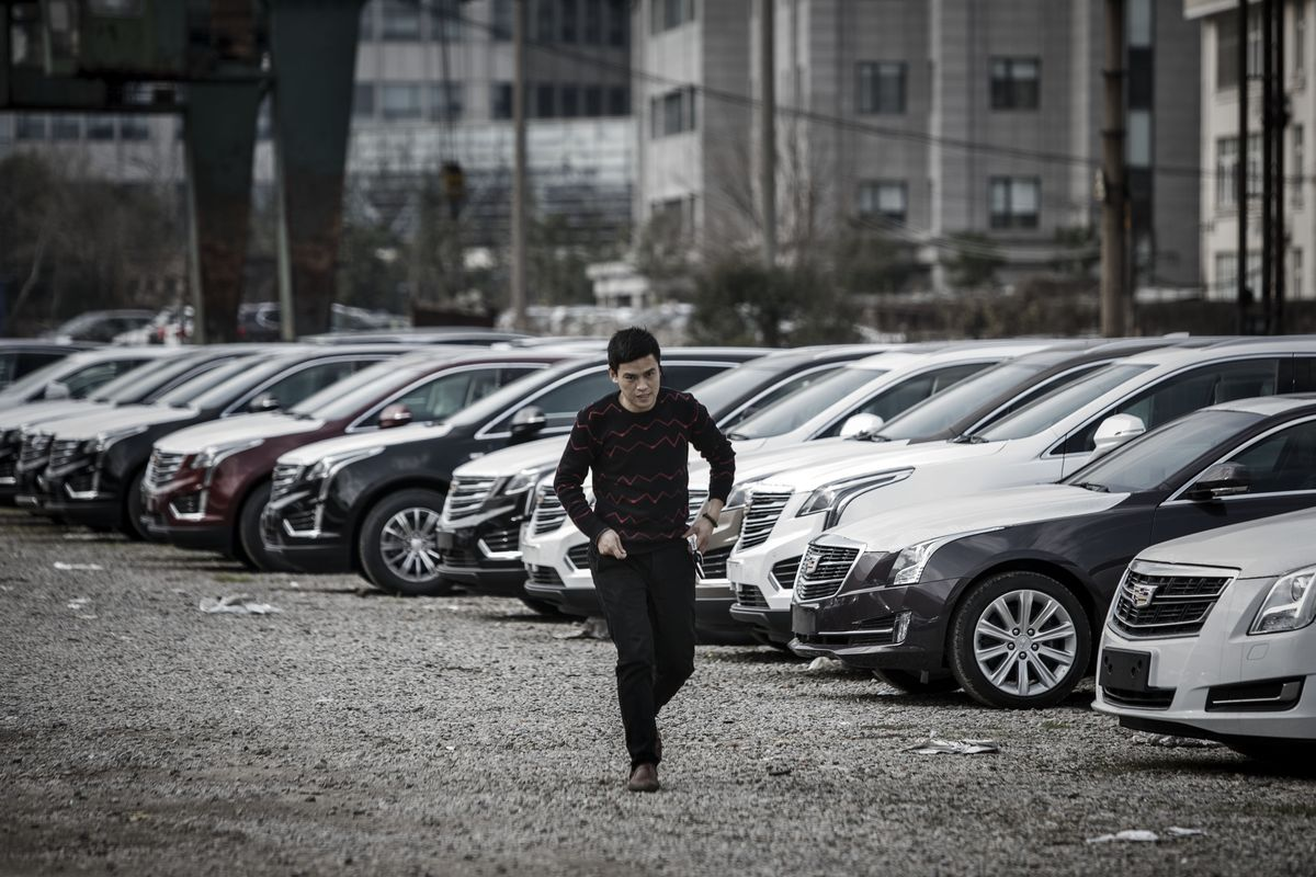 Record Slump in China's Auto Market Continues in September