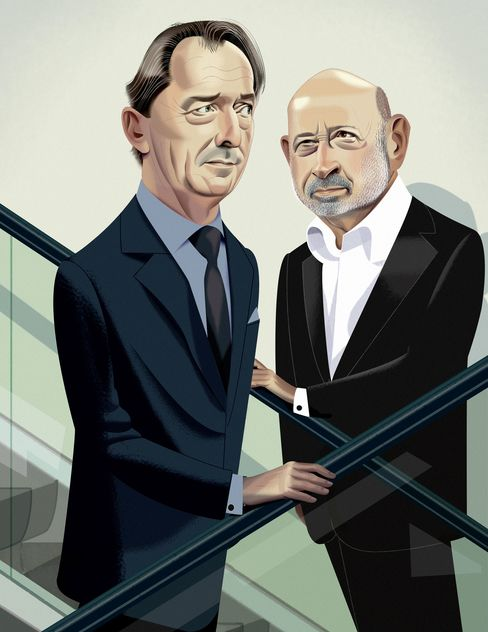 The CEOs of Morgan Stanley and Goldman Sachs, James Gorman and Lloyd Blankfein, are leading their firms in opposite directions.