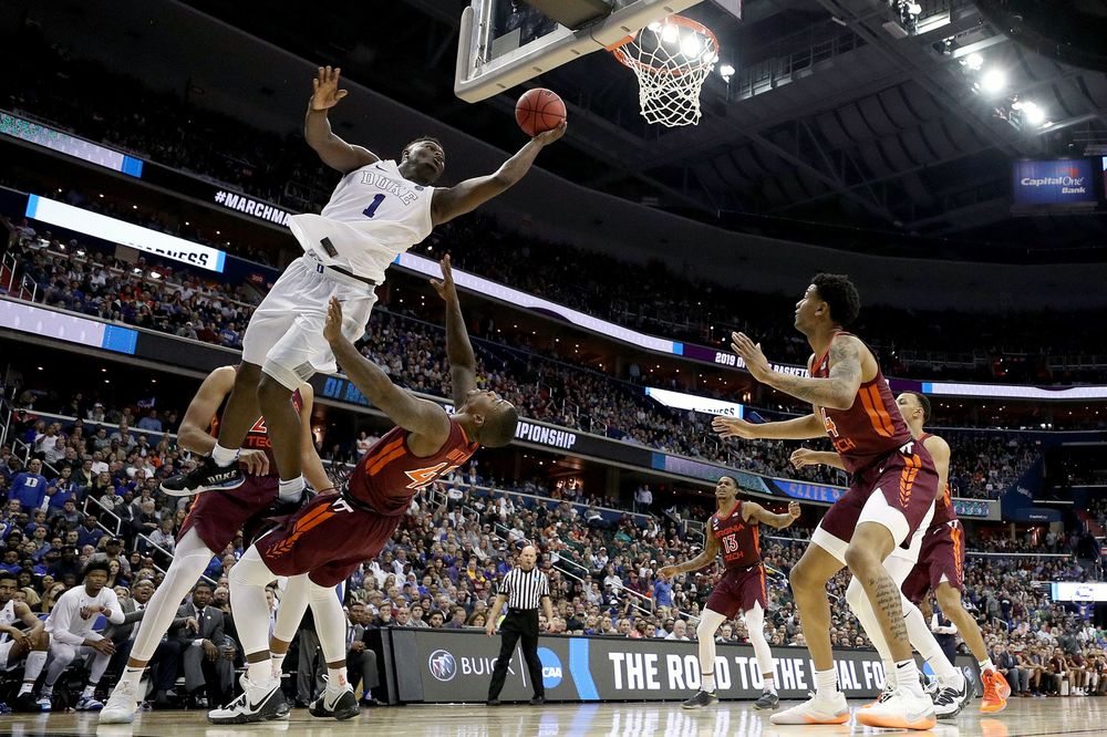 Duke Zion Edge Out Victory Against Virginia Tech To Advance Bloomberg