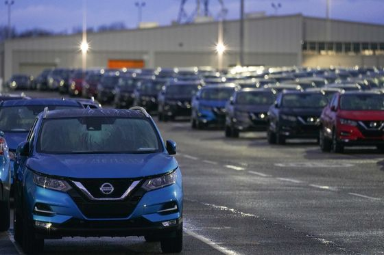 Nissan Boasts Brexit Advantage With Rare U.K. Battery Supply