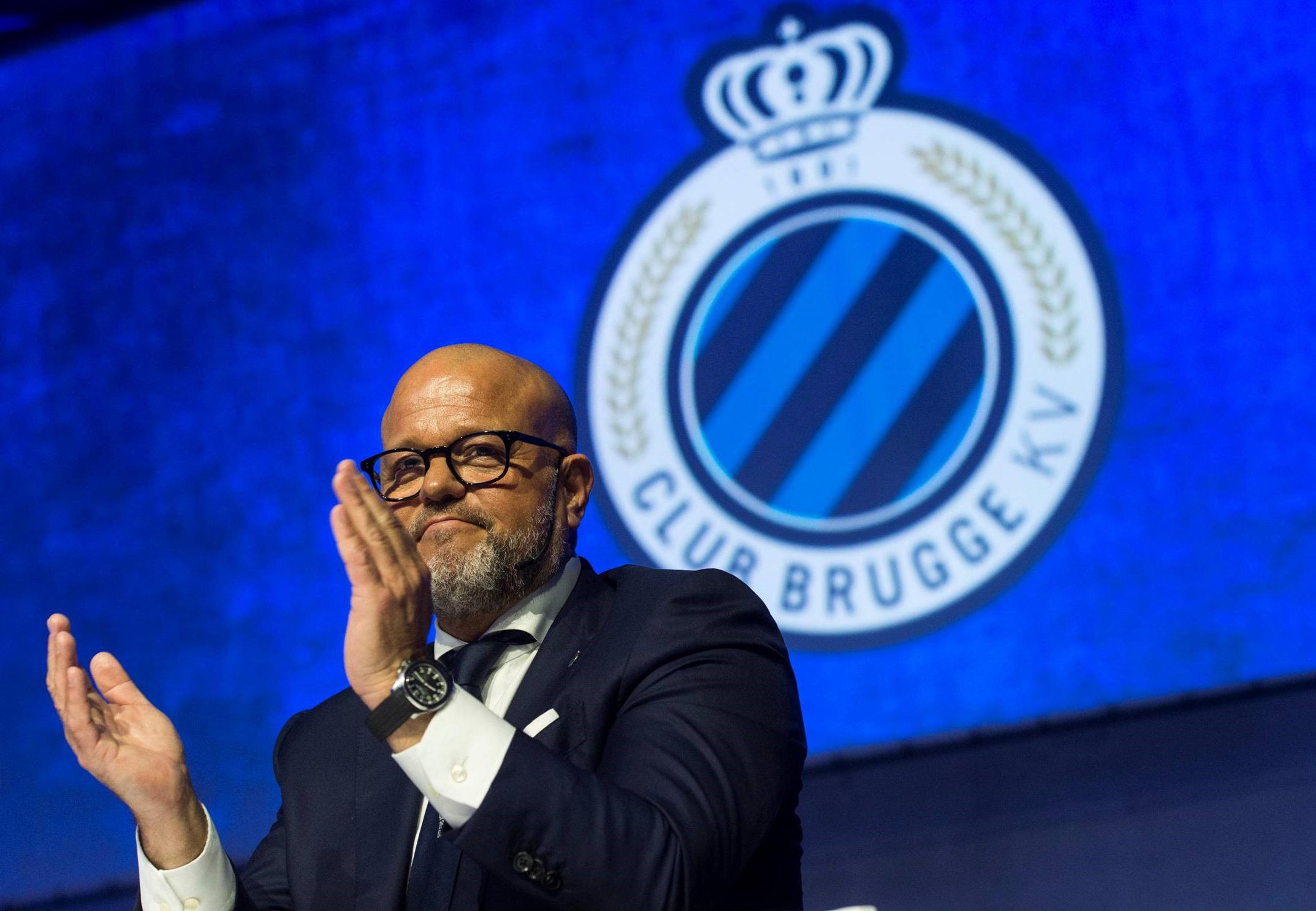Relatif au Club Brugge place la star du football au centre de l'introduction en bourse