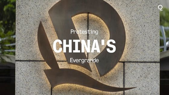 Evergrande Crisis Escalates as Protests Break Out in China