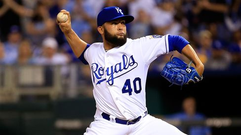 Royals Relief Pitcher Kelvin Herrera