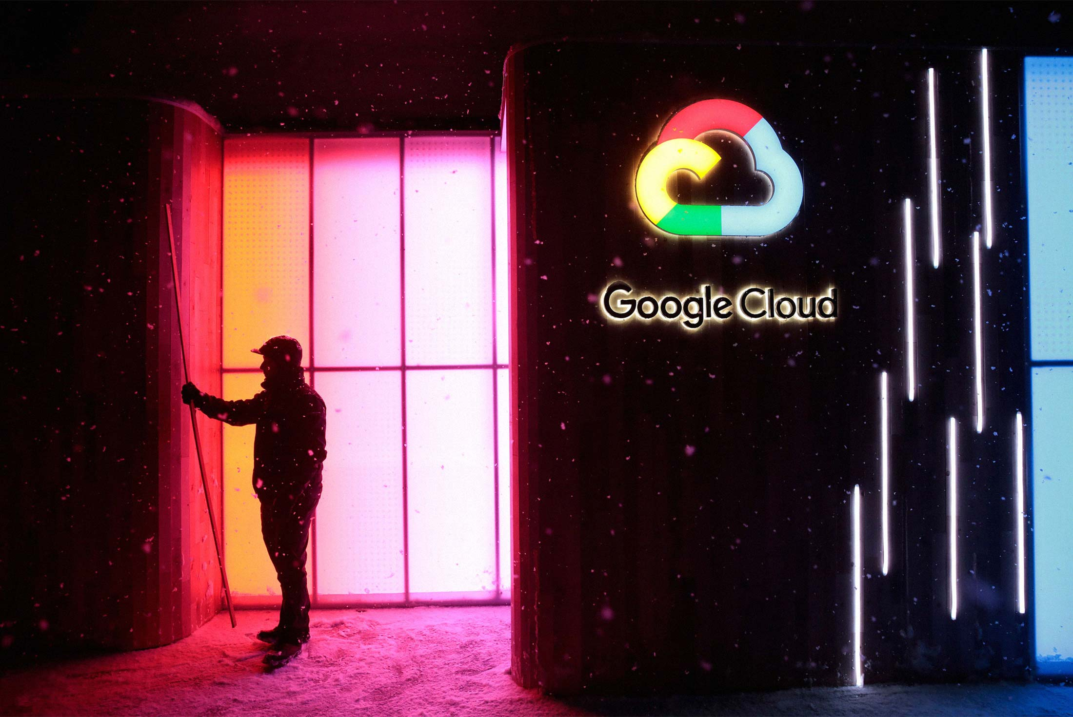 Google May Have to Get Used to Third Place in the Cloud