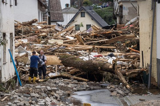Dramatic Photos of Germany's Worst Flooding in Decades Capture Devastation
