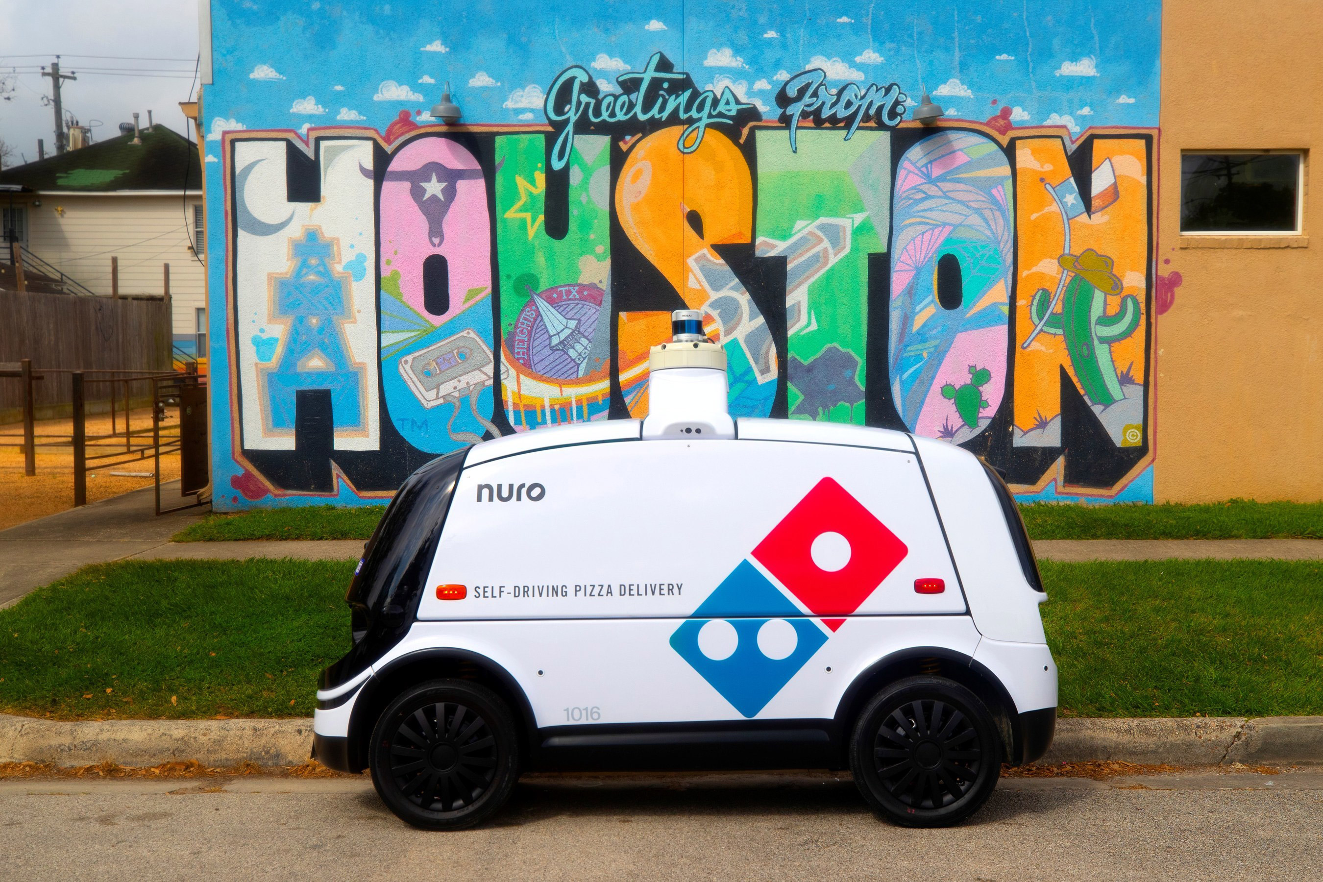 Beginning this week, Domino's and Nuro are launching autonomous pizza delivery in Houston.
