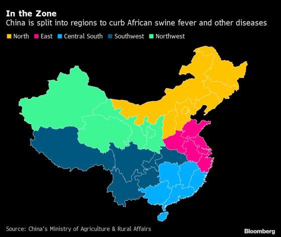 China's Swine Fever Lockdown Reshapes $300 Billion Pig Industry