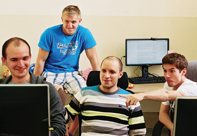 Inside the company's offices in Minsk, a team of developers works on Viber's app for Windows phones