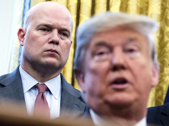 House Panel Votes to Subpoena Whitaker If He Balks at Questions