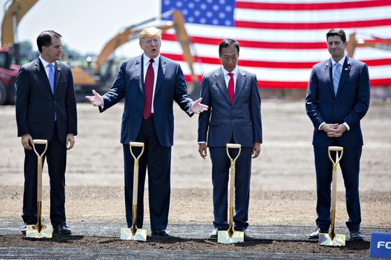 Foxconn Rethinking Plans for Wisconsin LCD Display Factory