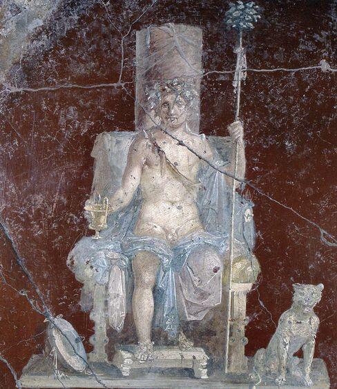 Dionysos Mural