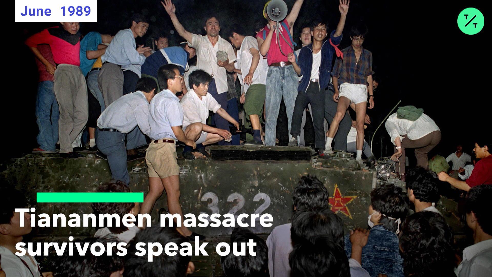 Tiananmen Massacre Survivors Speak Out