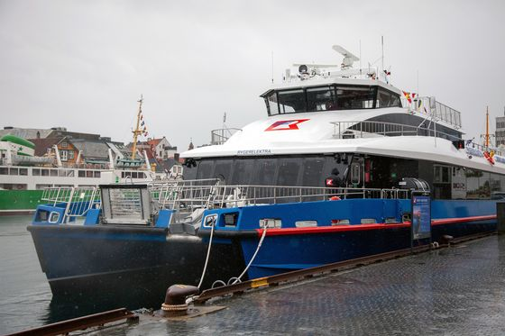 Travel Norway's Fjords on a Quiet Electric Ferry