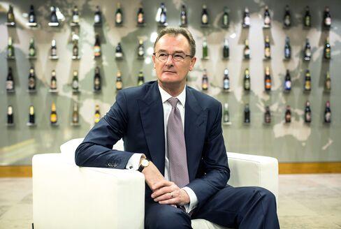 SABMiller Plc Chief Executive Officer Alan Clark
