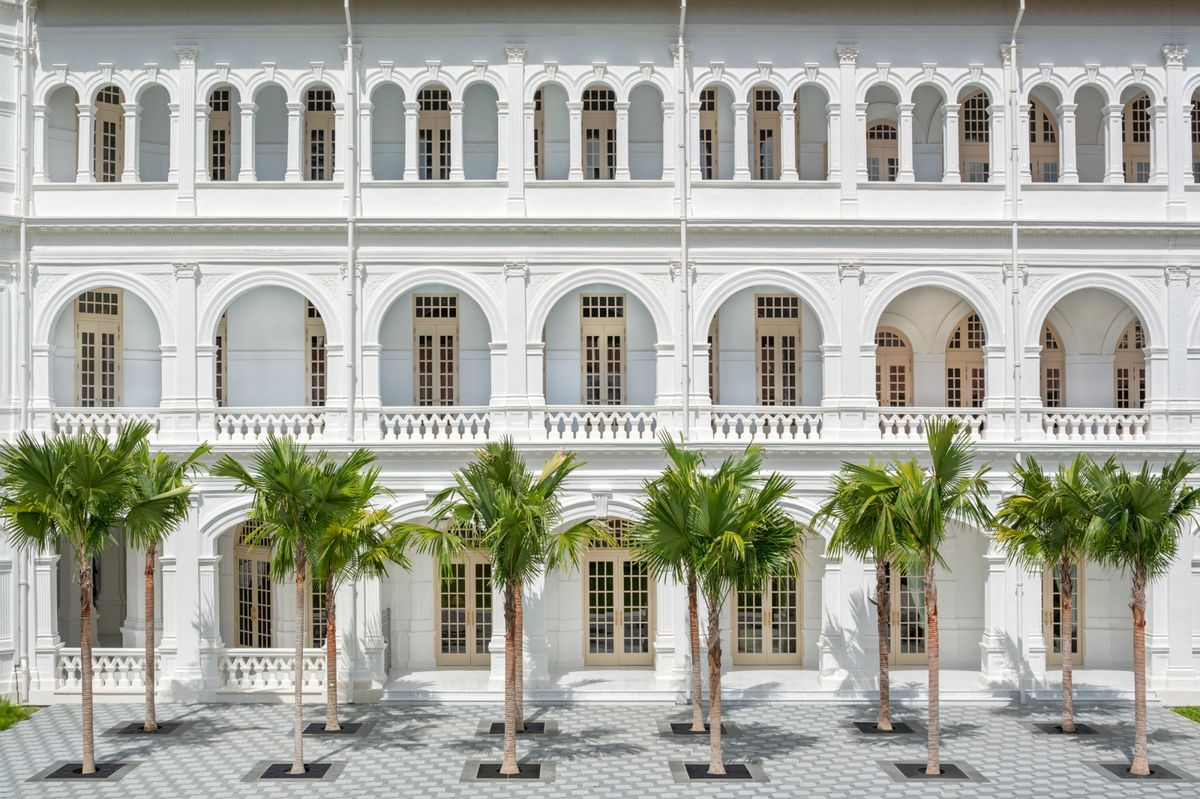 Raffles Singapore: Photos from the Hotel, Bars and Restaurants - Bloomberg