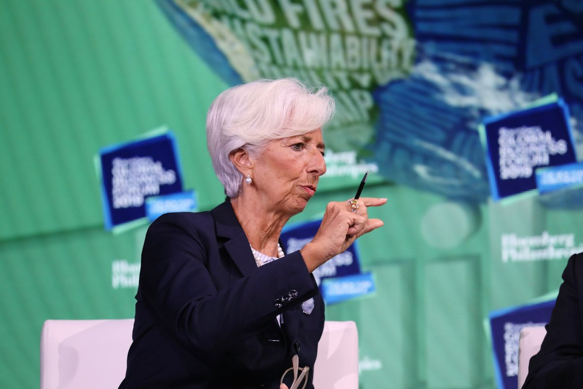 Incoming ECB Chief Lagarde Says Trump Can Unlock Uncertainty