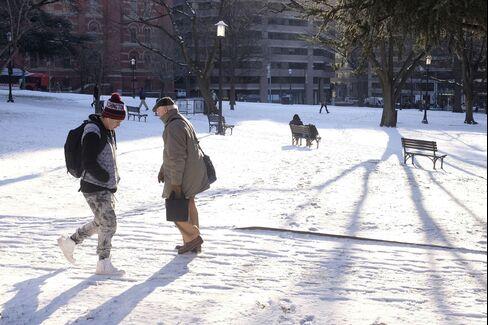 Franklin Square in Washington DC on Jan. 21