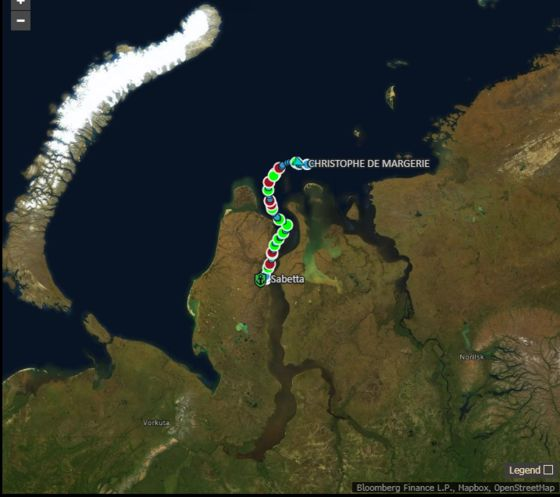 Russia's Yamal LNG Sends Early Shipment Via Arctic Route