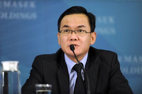 Temasek Holdings Pte Ltd Head of Strategy Jimmy Phoon