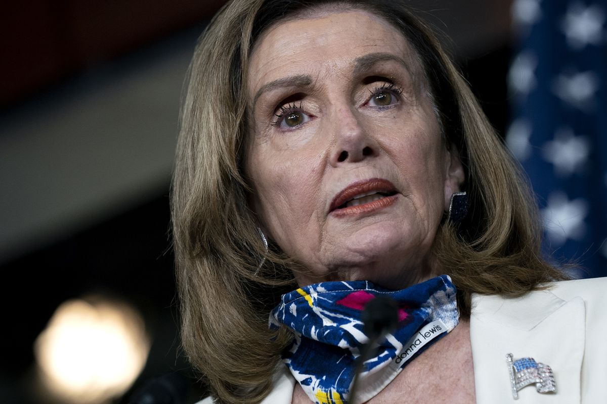Pelosi Sees Path to Stimulus in Capital Shaken Anew by Pandemic