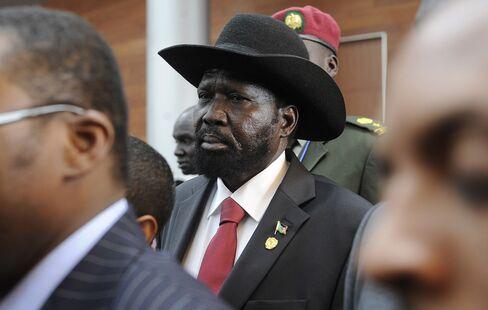 South Sudanese President Salva Kiir