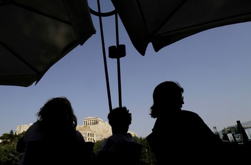Greece Debt Crisis Hitting Tourism