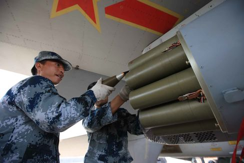China's Air Force Military Drill