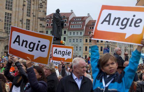 Merkel-Allied CSU Set for Majority in Bavaria, Projection Shows