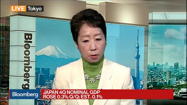 Japan's GDP upgraded to 1.6% annualized growth in Oct.-Dec