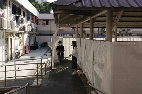 Singapore Widens Mandatory Testing Area to Contain Virus Cluster