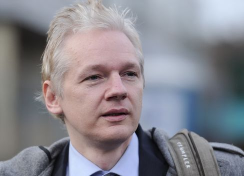 WikiLeaks' Assange May Gain From Swedish 'Haste' in Extradit