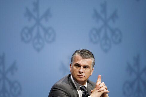 UBS Chief Executive Officer Sergio Ermotti