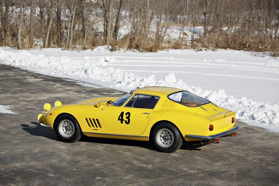 Hidden for 25 Years, the First Ferrari 275 GTB Races to Auction