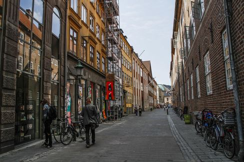 Commercial and Residential buildings in Copenhagen