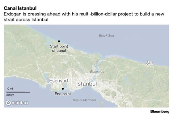 Opposition to Cut Support for Canal Project If Erdogan Loses