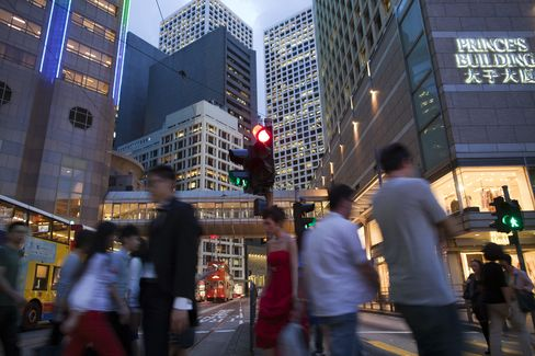 Hong Kong Cuts 2012 Growth Forecast as World Economy Falters