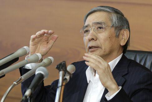 Haruhiko Kuroda on July 29.