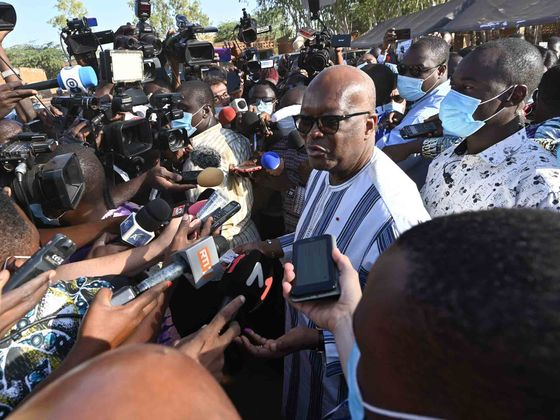 Burkina Faso's Kabore Wins New Term in Vote Marred by Insecurity