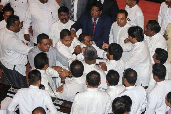 Brawl in Parliament Shows Sri Lanka Descending Into Chaos