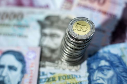 World-Best Currency Gain Ebbs as Orban Rate Coup Hits Forint