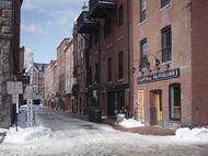 Portland, Maine's historic district.