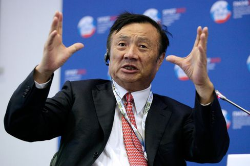 Huawei's Chief Breaks His Silence