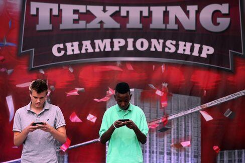 U.S. Text Messaging Champion Is $50,000 Richer