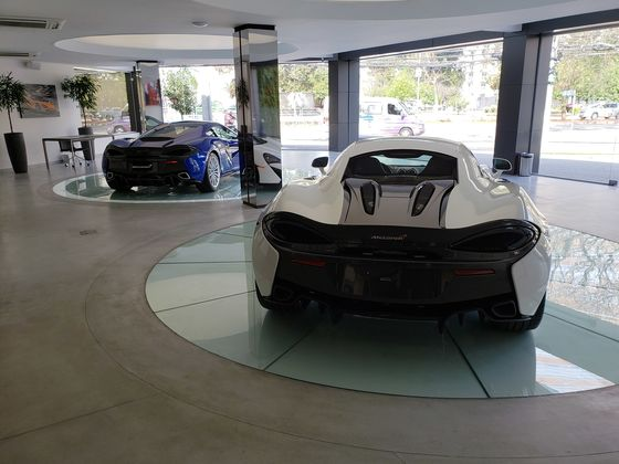 McLaren Finds Niche for $410,000 Cars in Struggling Brazil