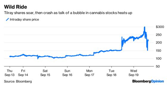 Pot Stocks Bring Out the Worst in Investors