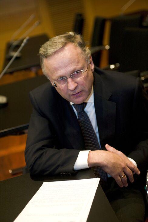 Norway's Central Bank Governor Svein Gjedrem