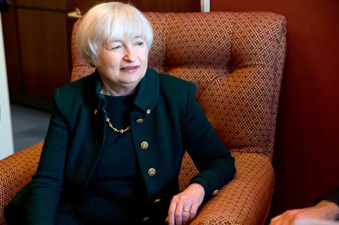 Fed Reserve Vice Chairman Janet Yellen