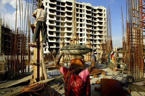 Construction Boom in India