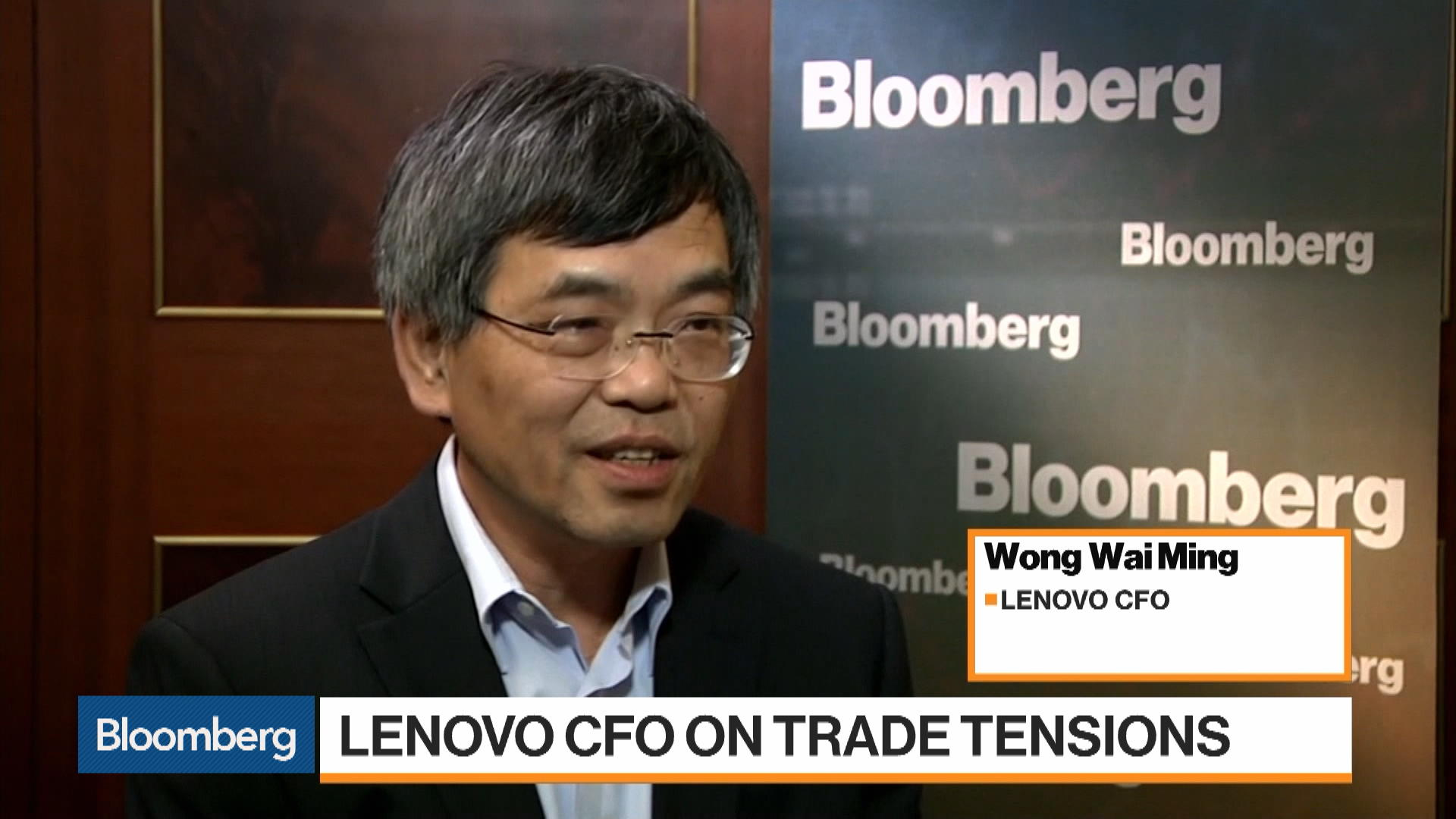 Lenovo Has Various Plans to Deal With Impact of U.S.-China Tensions: CFO